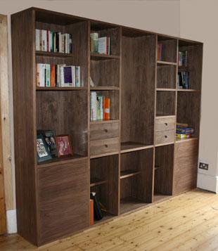 Bespoke bookcase Manchester