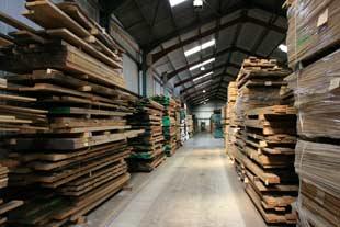 Select timber for bespoke handmade furniture