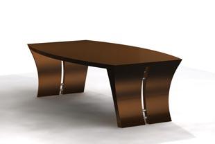 Render of bespoke coffee table