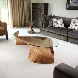 Sidewinder II sculptural coffee table