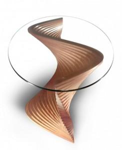 Sidewinder sculptural coffee table