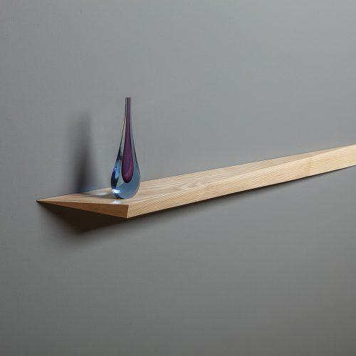 Comet decorative floating shelf