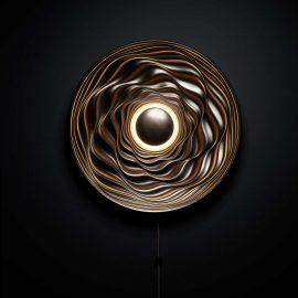 Transmission illuminated sculpture